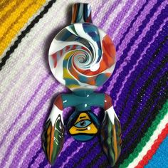 AUCTION Finally able to function at a semi-normal level after Vegas rocked me.  So let's have an auction for this spiraleyezed tribal pendant.  Please read rules before bidding. Thanks! . AUCTION Place bids here on Instagram- this post  Starting: NOW Ending:  Monday 4:20 central time  Starting bid: $0 Bid increments: any Reserve: none  BIN: $300 Shipping: $10 contiguous United States  You must be ready to pay via PayPal or debit card in order to bid.  Thanks for making it all happen!