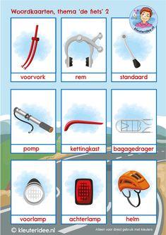 Learn Dutch, Dutch Language, Geocaching, Transportation, Kindergarten, Homeschool, Bicycle, Learning, Cycling