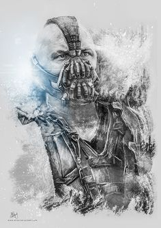 Bane - The Dark Knight Rises on Behance