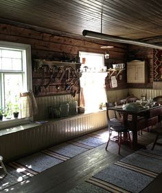 IMG_5250 | Flickr - Photo Sharing! Finland Country, Nordic Interior, Scandinavian Interiors, Simply Home, Hiding Places, Wooden House, Cottage Design, Old Houses, Patio