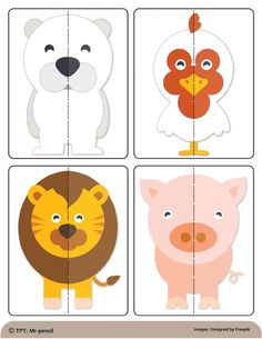 Activities For 2 Year Olds, Toddler Learning Activities, Preschool Learning Activities, Infant Activities, Kids Learning, Activities For Kids, Preschool Body Theme, Preschool Charts, Farm Animals Preschool
