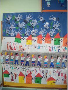 ...Το Νηπιαγωγείο μ' αρέσει πιο πολύ.: 28η Οκτωβρίου . Ομαδικές εργασίες και πατρόν. 28th October, Flag, Display, Children, Crafts, Activities, Floor Space, Young Children, Boys