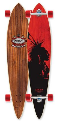 Arbor Koa Timeless Pintail Complete Longboard Skateboard $169.95 at Action Board Sports absboards.com
