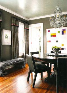 Grey walls.. love the color