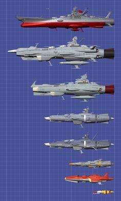 Star Blazers or Space battleship Yamato