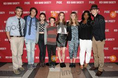"""10 July 2014 - Atlanta, Georgia - Dave Annable, Nolan Sotillo, Ciara Bravo, Griffin Gluck, Rebecca Rittenhouse, Zoe Levin, Octavia Spencer, Charlie Rowe. Screening and cast Q&A for the upcoming Fox TV series """"Red Band Society,"""" filmed in Georgia. Executive-produced by Stephen Spielberg the cas is as follows: Academy Award winner Octavia Spencer (Nurse Jackson), with Dave Annable (Dr. William McAndrew), Astro (Dash), Ciara Bravo (Emma), Griffin Gluck (Charlie), Zoe Levin (Kara Souders""""), ..."""