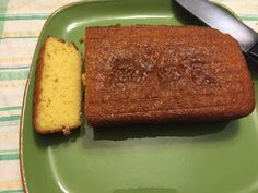 Lemon Drizzle Cake (without the drizzle)