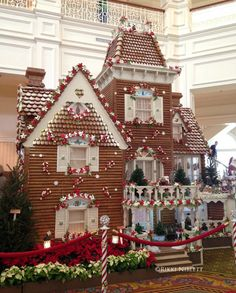 """Disney World's Grand Floridian Gingerbread House Officially Open!  This is definitely a """"Do-Not-Miss""""!!!! ~~ Touringplans.com Blog"""