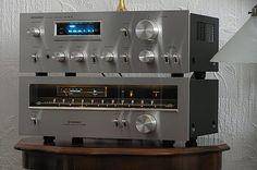 Golden Age Of Audio: Kenwood KR 11000 G, Dual 1249