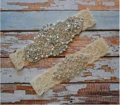 Wedding Garter Wedding Garter Belt by SpecialTouchBridal on Etsy