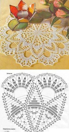 Ale świetne pomysły ♥ diy, na Stylowi. pl 1409918 home-sweet-home-home-home-sweet strona 2 This Pin was discovered by Bea One of the most beautiful crochet works I have ever seen. Pretty doily not standard looking. Free Crochet Doily Patterns, Crochet Doily Diagram, Crochet Circles, Crochet Chart, Crochet Motif, Crochet Designs, Crochet Lace, Filet Crochet, Thread Crochet