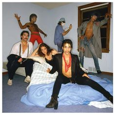 Prince, Lisa Coleman, Bobby Z, Dez Dickerson, Dr. Fink and Andre Cymone 1980