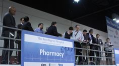 Attendees overlooking the IHP