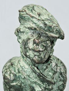 Gravoche - Detalle de este personaje de Los Miserables hecho #arte con #bronce
