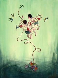 Ilustração de Julian Callos l Callos é um Filipino de apenas 23 anos que mora em Los Angeles. Seus trabalhos são influenciados por quadrinhos, desenhos, cultura pop, e muito mais.