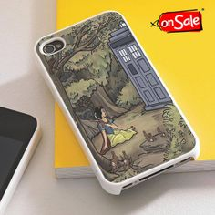 Tardis Snow White  iPhone 4S case iPhone 5S case by RogohSukmo, $5.00