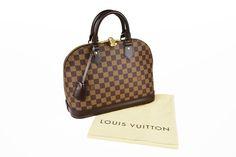 e995a5f8e43b Win this Louis Vuitton Damier Canvas Alma PM Bag - Yoogi s Closet