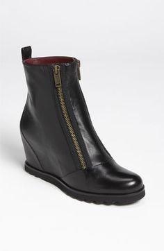 My sister would love these!   MARC BY MARC JACOBS Wedge Bootie available at #Nordstrom