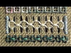 08 Mystic Christmas Sampler - Eyelets and Hemstitching - YouTube