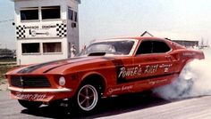 70s Funny Cars - Dave Powers