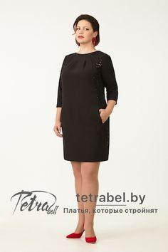 Модное маленькое черное платье больших размеров. Платья больших размеров от tetrabel.by. Платья больших размеров оптом. #МаленькоеЧерноеПлатьеДляПолныхЖенщин #НарядныеПлатьяБольшихРазмеров