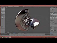 Model A Sphericon Pendant In Blender 2.76 (Part 1)   Tutorial