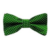 Pindot - Kelly Green (Bow Ties) from TheTieBar.com - Wear Your Good Tie Everyday