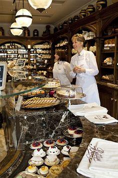 Betty's Teashop in Harrogate, Yorkshire - so charming, so lovely, so delicious!!
