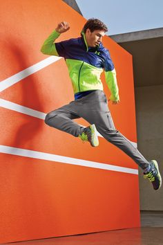 Men Under Armour® embossed lightweight hoodie, capital knit pant, rapid short sleeve t-shirt. Get Active. Update your activewear with new styles in electric neon colors.