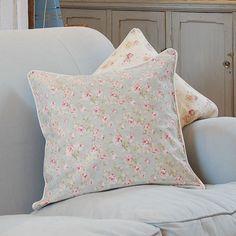 Rosy Print Cushion