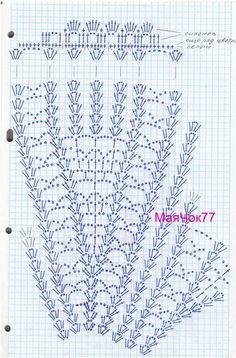 Magia do Crochet Skirt Pattern Free, Crochet Baby Dress Pattern, Baby Dress Patterns, Crochet Diagram, Crochet Chart, Free Pattern, Vintage Crochet Dresses, Crochet Skirts, Modern Crochet Patterns