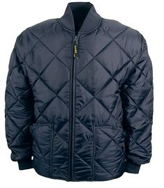 08b3f5984 Game Sportswear Men's Diamond Quilt Jacket Navy Review Firefighter Apparel,  Diamond Quilt, Quilted Jacket