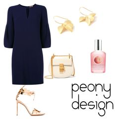 """""""Peony Design"""" by teri-peony on Polyvore featuring Burberry, Francesco Russo and Chloé"""