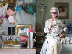 Love the simple beauty tips of the inimitable linda rodin