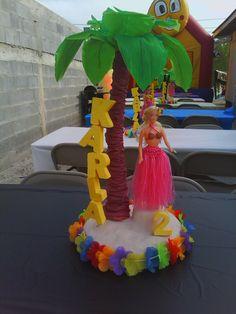 Hawaiian Centro de mesa