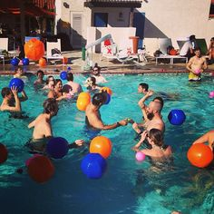 Farewell pool party at #TEDActive!