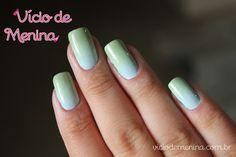 Ombré - Dip dye - Nail art ♥