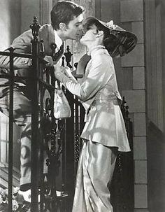 """Jeremy Brett and Audrey Hepburn, """"My Fair Lady"""" (1964)"""