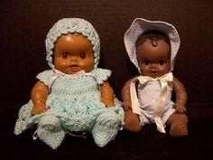 Amosandra dolls from the 1950s.