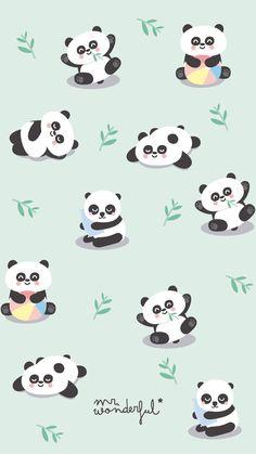 62 Ideas For Wallpaper Celular Whatsapp Panda Panda Wallpaper Iphone, Cute Panda Wallpaper, Panda Wallpapers, Kawaii Wallpaper, Animal Wallpaper, Disney Wallpaper, Aztec Wallpaper, Pink Wallpaper, Iphone Wallpapers