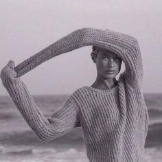 Carolyn Murphy natural beach beauty