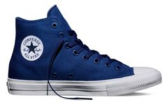 Converse Chuck Taylor All Star II Sodalite Blu Women's M US >>> Check this awesome image : Basketball shoes Galaxy Converse, Blue Converse Shoes, Navy Blue Sneakers, Blue Trainers, Navy Blue Shoes, Black Chucks, Converse Trainers, White Shoes, Men's Shoes