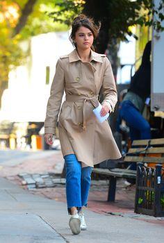 September 11: Selena on set of Woody Allen's film in New York, NY [HQs]