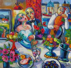 The anniversary South African Artists, Anniversary, Painting, Painting Art, Paintings, Painted Canvas, Drawings