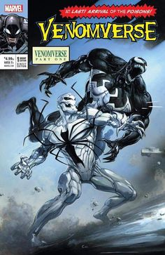 Venomverse #1 (2017) 7Ate9Comics Exclusive Homage Variant Cover by Clayton Crain