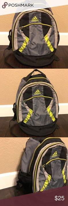 Adidas Backpack Great backpack that has some used with some peeling on the inside Lining seen but this doesn't affect the durability of this bag overall still a good bag . adidas Bags Backpacks