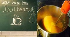De soep van de dag (7/4/2016): Butternut! Komt dat smullen! #fithapdagsoep