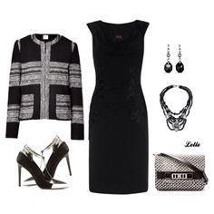 L'Agence jacket, Phase Eight dress