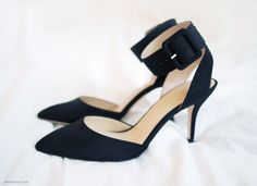 Zara pumps with low heels. Only $55.00