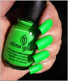 China Glaze Kiwi Cool-Ada... in love with this color